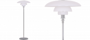 PH 4.5 - 3.5 Floor Lamp Tall - Black