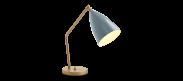 Grasshopper Table Lamp - Grey Blue