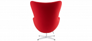 The Egg Chair - Wool - Deep Red