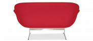 The Swan Sofa - Wool - Red