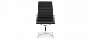 Eames Style Office Chair EA109 Leather  - Black
