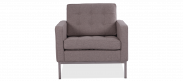 Knoll Armchair - Wool - Pebble Light Grey