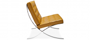 Barcelona Chair - Camel - Premium Leather