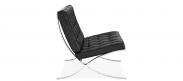 Barcelona Chair - Black - Premium Leather
