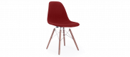 DSW Style Upholstered Dining Chair - Red