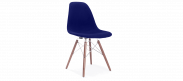 DSW Style Upholstered Dining Chair - Blue