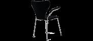 Series 7 Chair Carver - Black