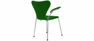 Series 7 Chair Carver - Green