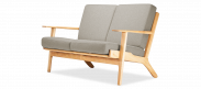 GE 290 Plank Loveseat 2 Seater Sofa
