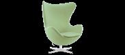 The Egg Chair - Wool - Light Green