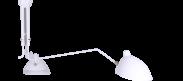 MCL R3 - Three Arm Casquette Ceiling Lamp - White