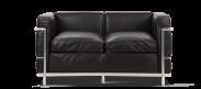 LC2 Style Petit - 2 Seat Sofa