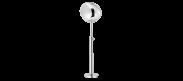 Melt Floor Lamp - Chrome