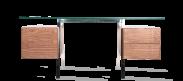 Niels Bendtsen Style Desk - Walnut