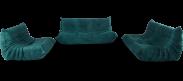 Togo Style 3 Seater Sofa