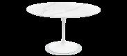 Tulip Round Dining Table - Marble - Calcutta Quartz