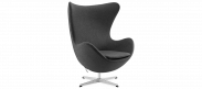 The Egg Chair - Wool - Charcoal Grey
