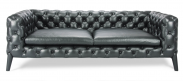 Windsor 3 Seater Sofa- Black_1