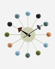 Ball-Clock---Multicolor
