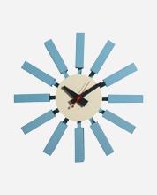 Blue-Block-Clock